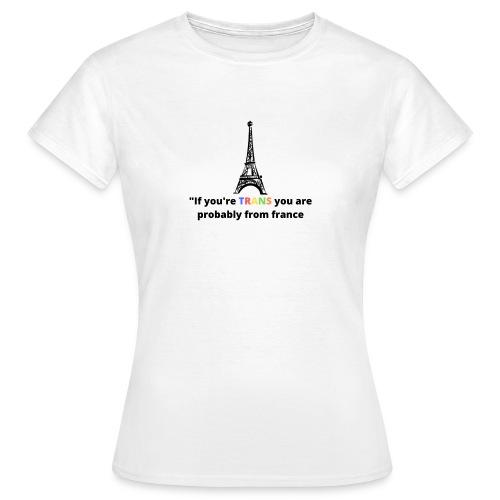 Slogan - Black Heading - Dame-T-shirt