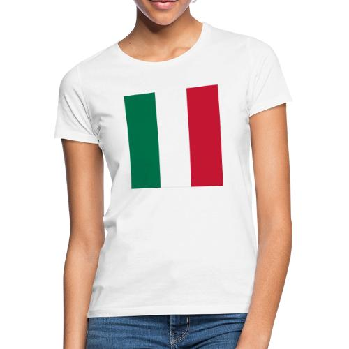 italy square flag - Women's T-Shirt