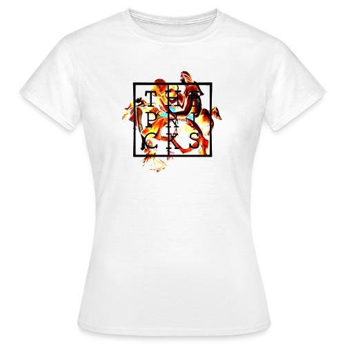 The Pricks Logo! - T-skjorte for kvinner