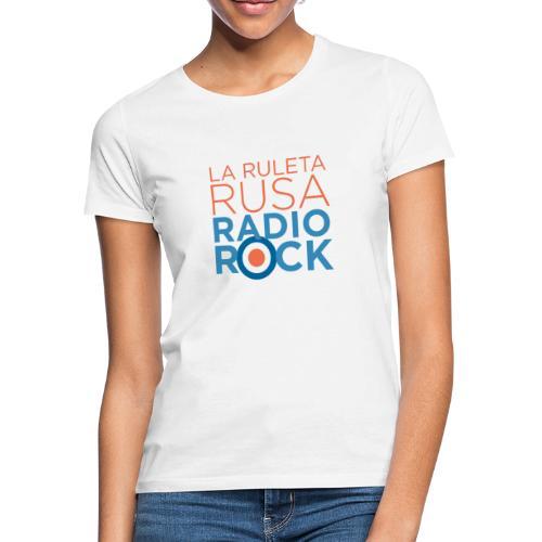 La Ruleta Rusa Radio Rock. Portrait Primary. - Camiseta mujer
