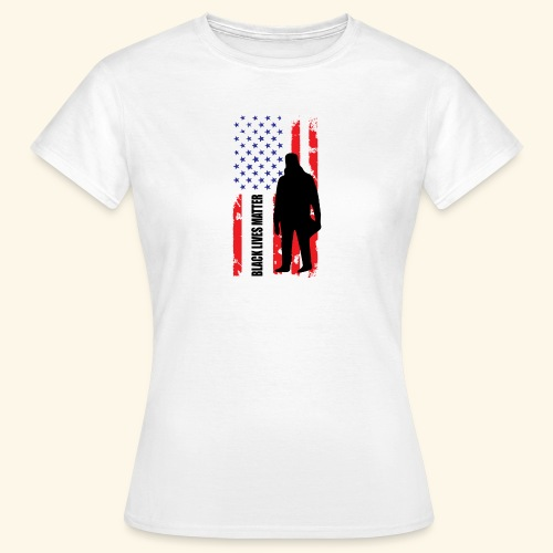 Black Lives Matter - Flagge - Frauen T-Shirt