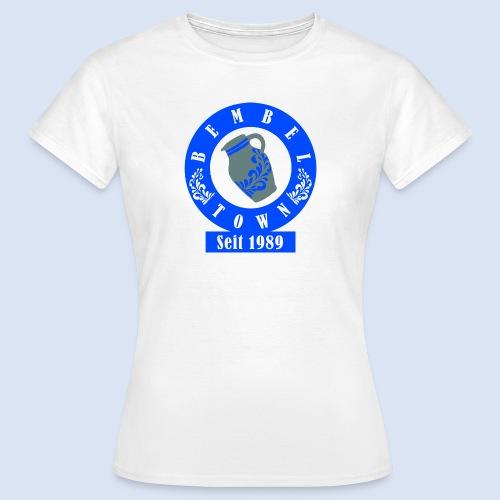 Bembeltown seit 1989 - #HessenShop #Frankfurt - Frauen T-Shirt