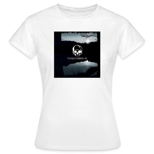 Hodeskalle - 3 steiner til nøkkelen - T-skjorte for kvinner