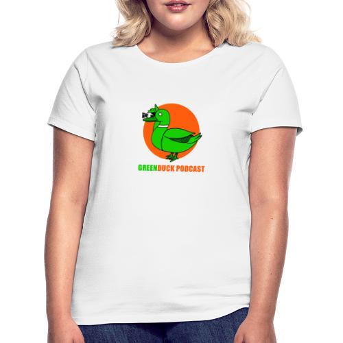 Greenduck Podcast Logo - Dame-T-shirt