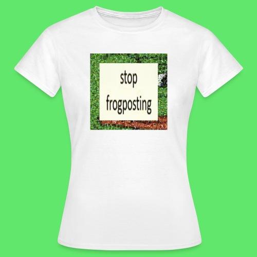 Frogposter - Women's T-Shirt