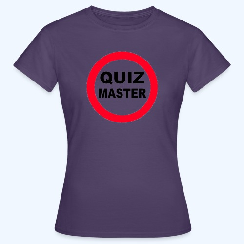 Quiz Master Stop Sign - Women's T-Shirt