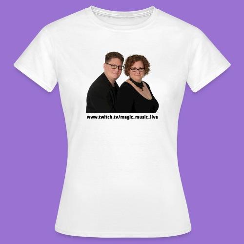 Klara und Bernhard Portrait - Frauen T-Shirt