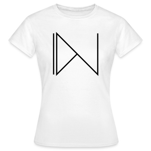 Icon on sleeve - Vrouwen T-shirt
