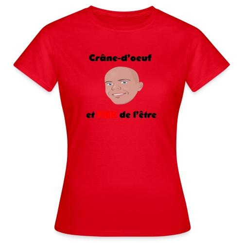 Chauve et fier - T-shirt Femme
