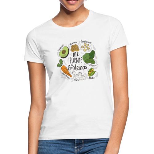 Mi fuente de proteinas - Camiseta mujer