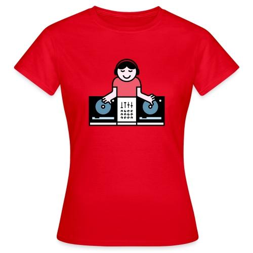 CDJ DJ - Vrouwen T-shirt