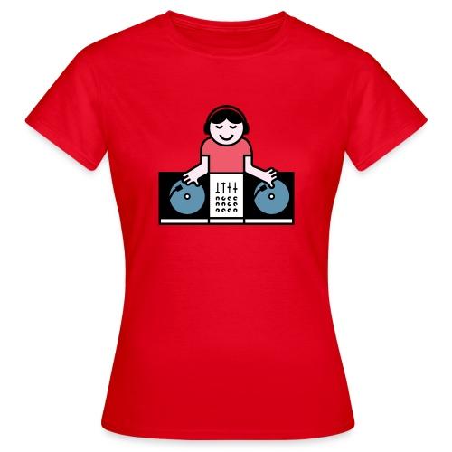 Vinyl DJ - Vrouwen T-shirt