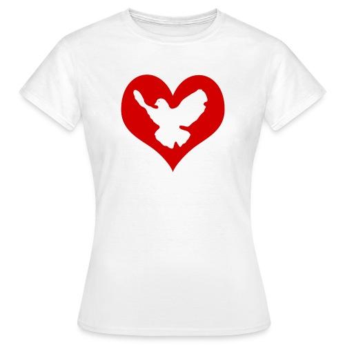 Peace & Love - Frauen T-Shirt