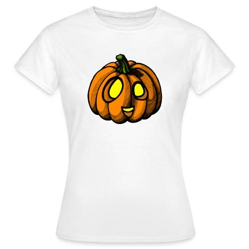 Pumpkin Halloween scribblesirii - Naisten t-paita