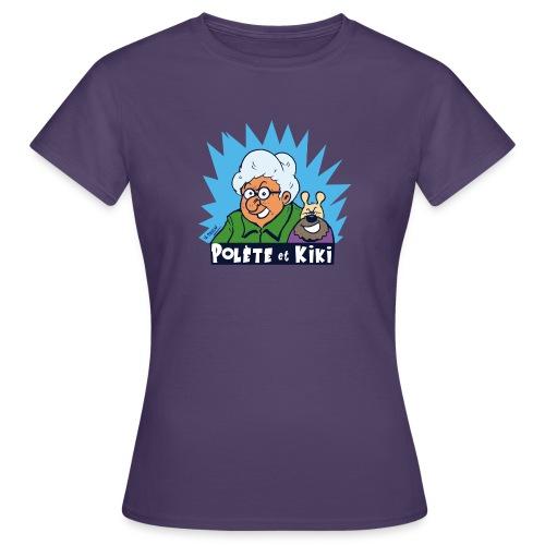 tshirt polete et kiki - T-shirt Femme