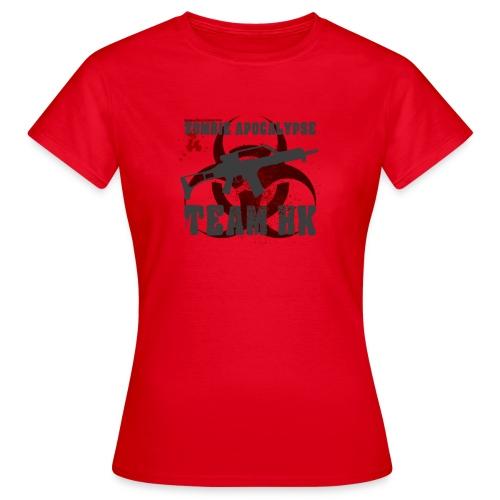 Zombie Apocalypse Team H&K - Frauen T-Shirt