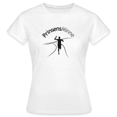 PrinsensMinne logga - T-shirt dam
