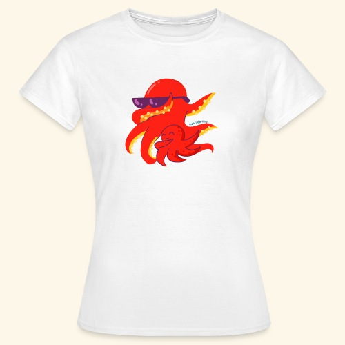 Dabbing Kraken Dab Dance and baby - Camiseta mujer