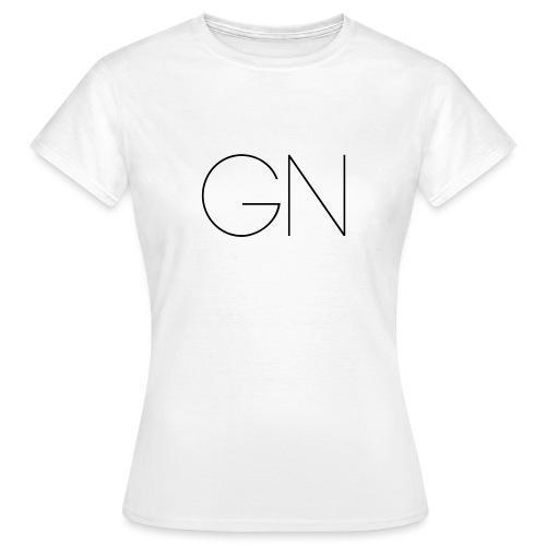 Långärmad tröja GN slim text - T-shirt dam