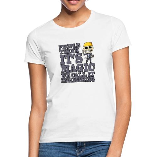 engineer - Vrouwen T-shirt