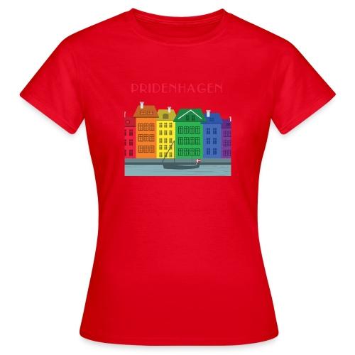 PRIDENHAGEN NYHAVN T-SHIRT - Dame-T-shirt