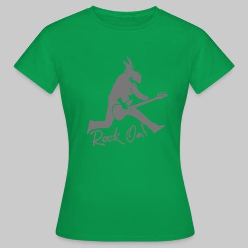 Rock On Nr. 2 - Frauen T-Shirt