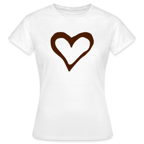 I love chocolate - Vrouwen T-shirt