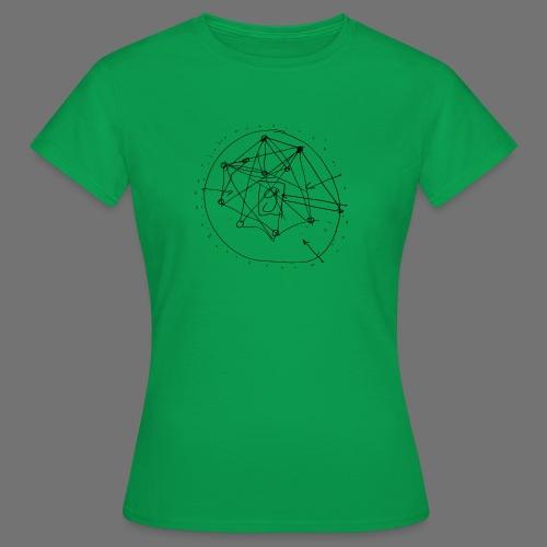 SEO strategia No.1 (musta) - Naisten t-paita