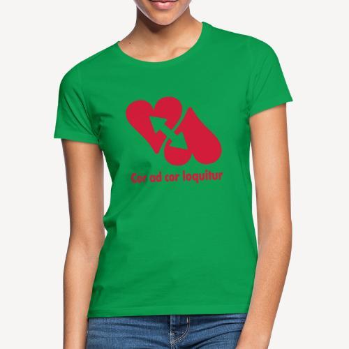 COR AD COR LOQUITUR - Women's T-Shirt