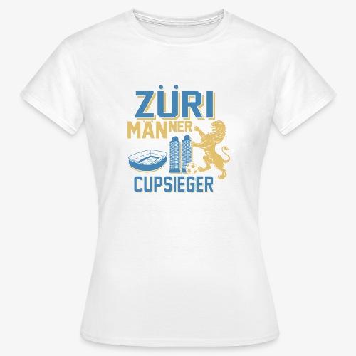 ZÜRI MÄNNER Fussball Cupsieger - Frauen T-Shirt