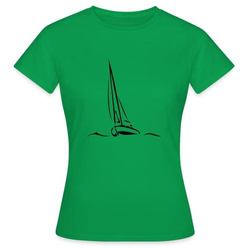 Segelboot - Frauen T-Shirt