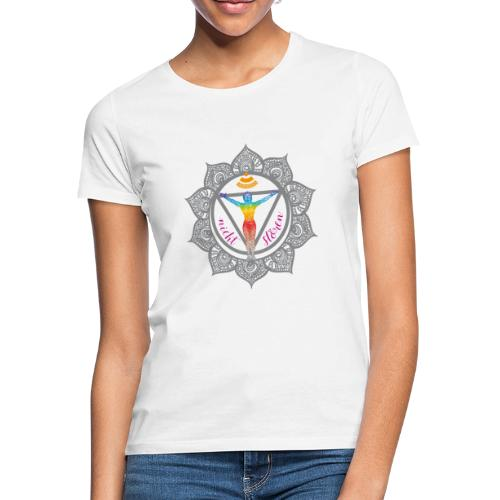 Yoga-Sonnengruß-Chakra - Frauen T-Shirt