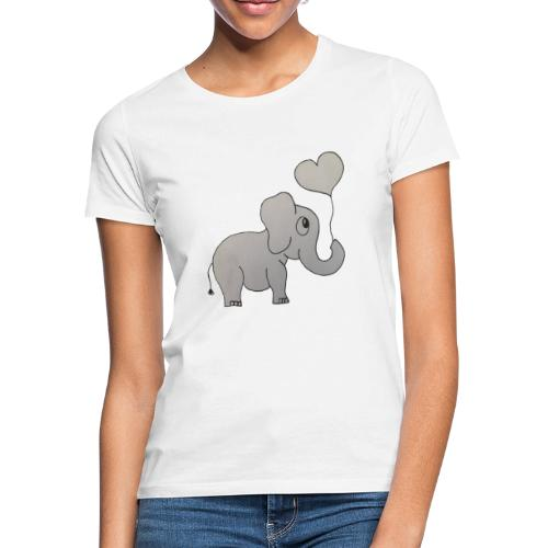 LackyElephant - Frauen T-Shirt