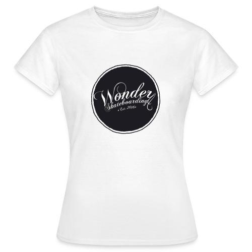 Wonder T-shirt - oldschool logo - Dame-T-shirt