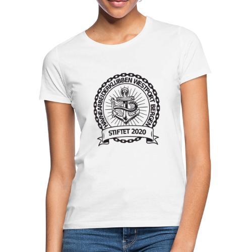 Havnearbeiderklubben westport bergen - T-skjorte for kvinner