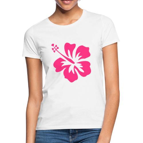 hibiscus - T-shirt Femme