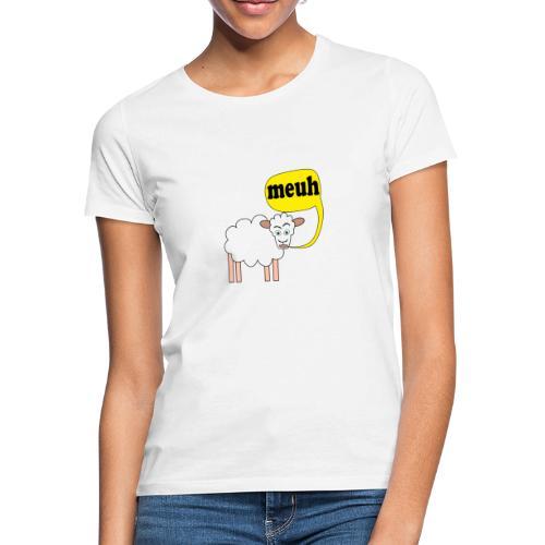 Mouton meuh ! - T-shirt Femme
