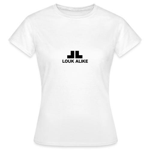 Louk Alike (lichte pull-kleuren) - Vrouwen T-shirt