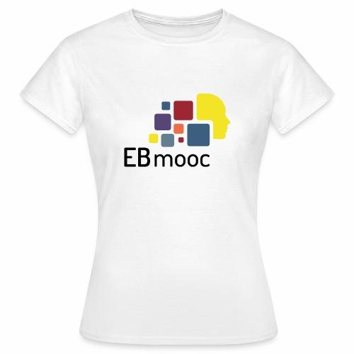 EBmooc Logo - Frauen T-Shirt