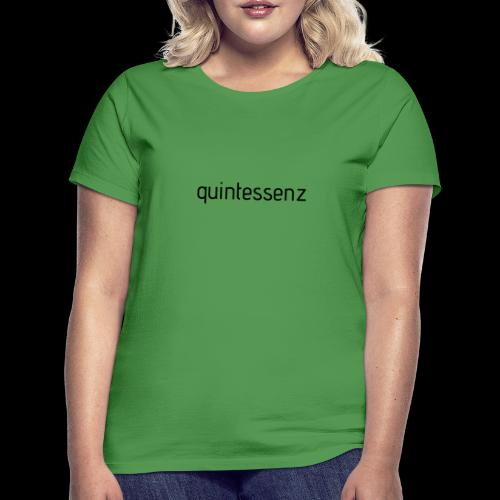 quintessenz black - Frauen T-Shirt