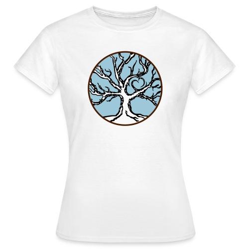 celtic love tree - Frauen T-Shirt
