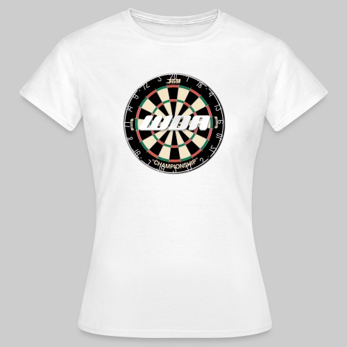 wda dartboard logo - Women's T-Shirt