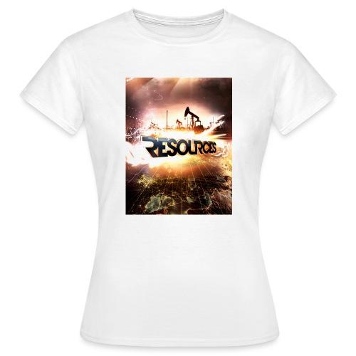 RESOURCES Splash Screen - Frauen T-Shirt