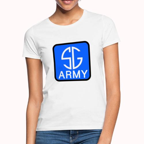 SemGamerArmy logo in box - Vrouwen T-shirt