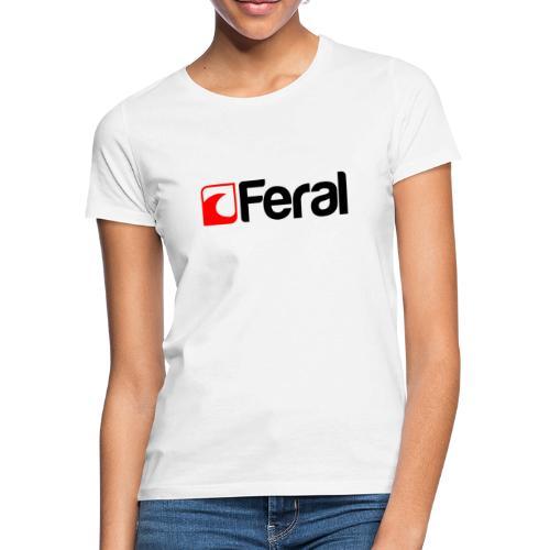 Feral Red Black - Women's T-Shirt
