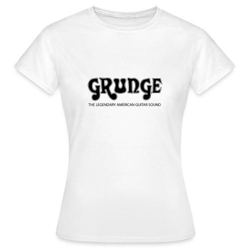 Grunge the legendary American Guitar Sound - Women's T-Shirt