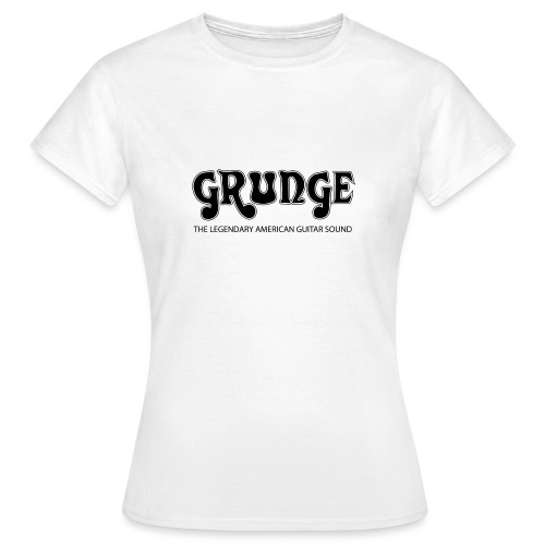 grunge3blacklarge png - Women's T-Shirt