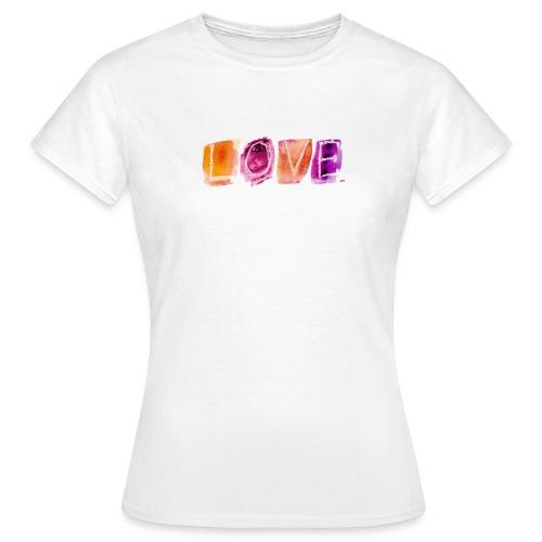Love - T-shirt Femme