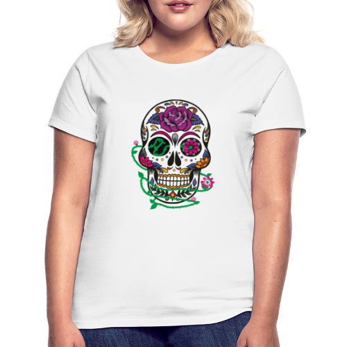 calavera 1 - Camiseta mujer