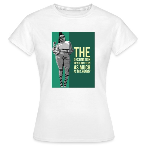 girlquote - T-shirt Femme
